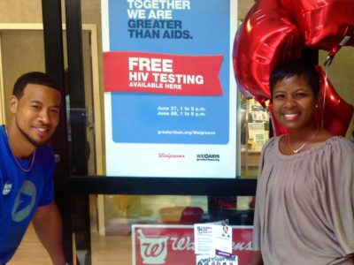 Get Tested with Walgreens & Greater Than AIDS!
