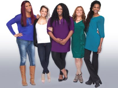 The five women of Empowered: Trans Women & HIV campaign video series