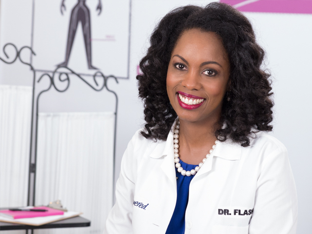 HIV doctor Dr. Charlene Flash smiling