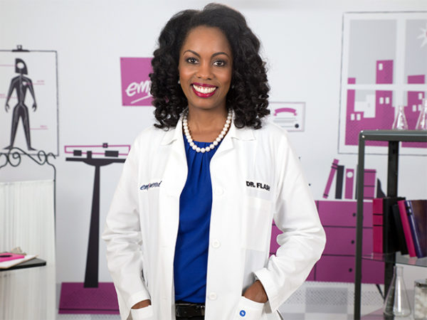 Dr. Charlene Flash for the #AskTheHIVDoc campaign from Greater Than AIDS