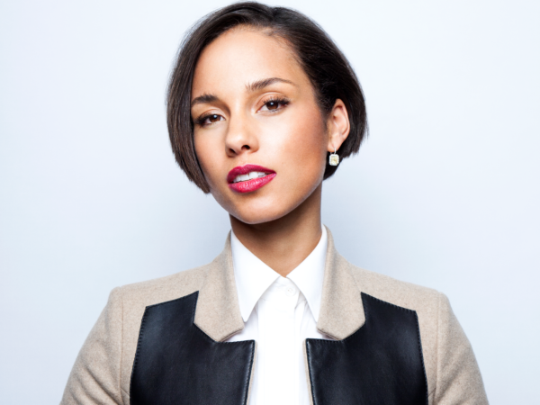 Alicia Keys for the Greater Than AIDS Empowered campaign