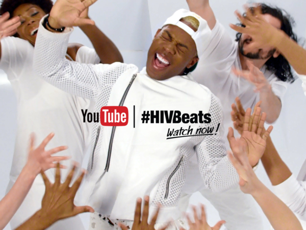 Video still of Todrick Hall dancing for #HIVBeats