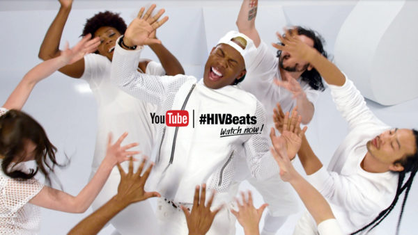 Video still of Todrick Hall dancing for #HIVBeats