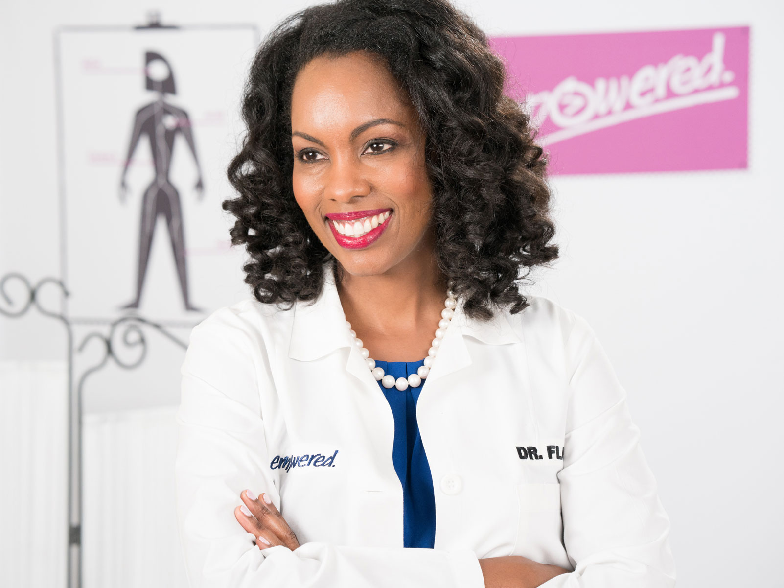 HIV specialist Dr. Charlene Flash smiling