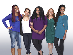 Group of women featured in Trans Empowered campaign