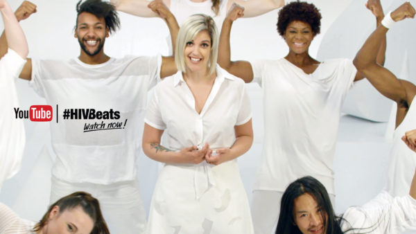 Video still of Catrific for #HIVBeats