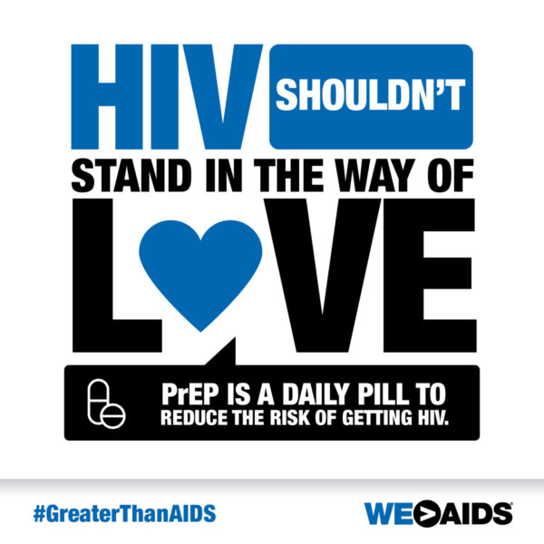 """HIV Shouldn't Stand in the Way of Love"" Graphic"