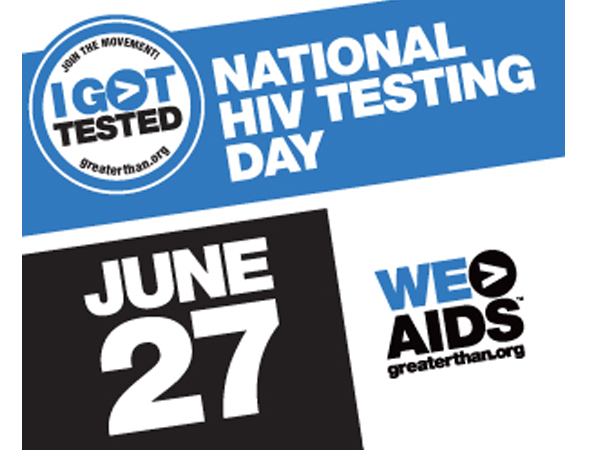 National HIV Testing Day June 27 WE>AIDS June 27 graphic