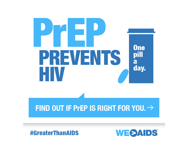 PrEP Prevents HIV Graphic