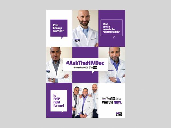 #AskTheHIVDoc Flyer