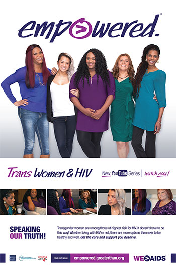 Empowered: Trans Women & HIV Poster
