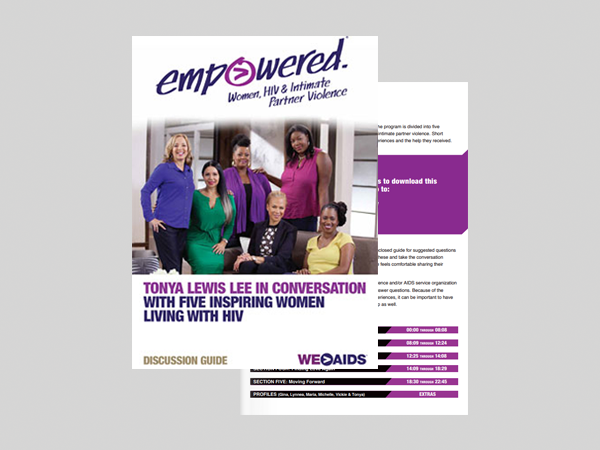Empowered: Women, HIV & Intimate Partner Violence Discussion Guide
