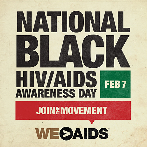 National Black HIV/AIDS Awareness Day Graphic (NBHAAD) February 7
