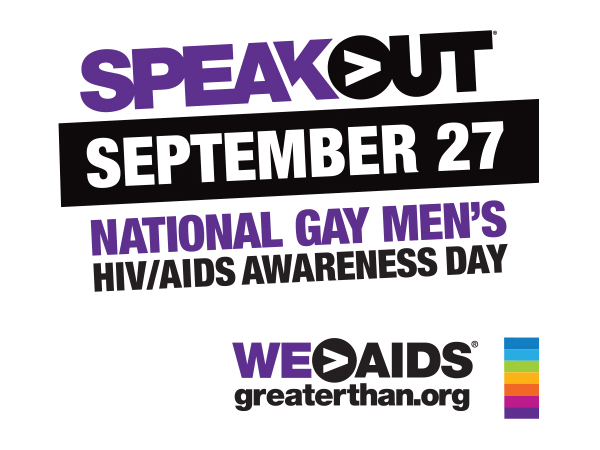 National Gay Men's HIV/AIDS Awareness Day (NGMHAAD) graphic