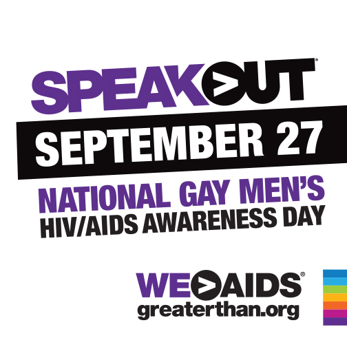 National Gay Men's HIV/AIDS Awareness Day (NGMHAAD) September 27