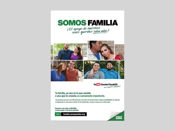 Somos Familia Poster