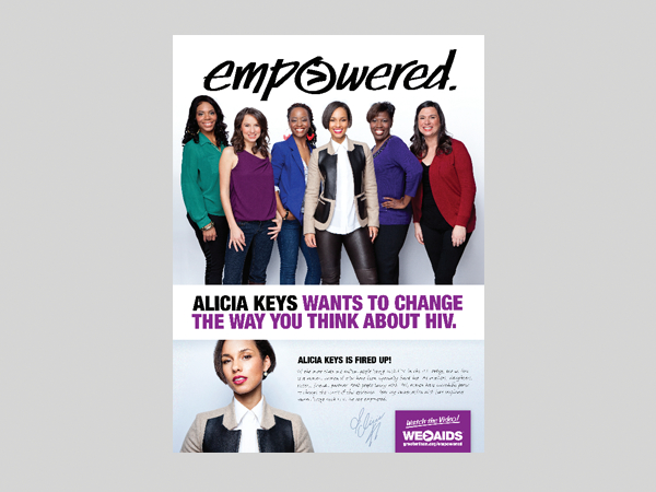 Empowered Women & HIV ft. Alicia Keys Poster