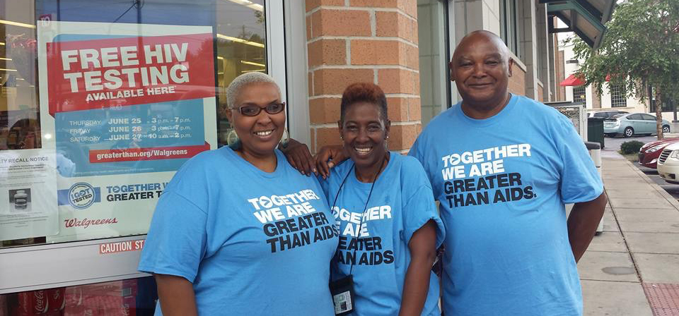 HIV Testers at Walgreens on National HIV Testing Day