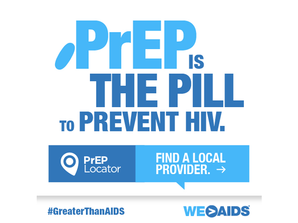"Let's Talk About PrEP! ""PrEP is the pill to prevent HIV"" Graphic"