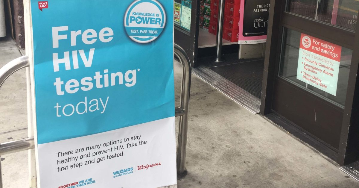 FREE HIV Testing at Select Walgreens in Cobb County - Greater Than AIDS