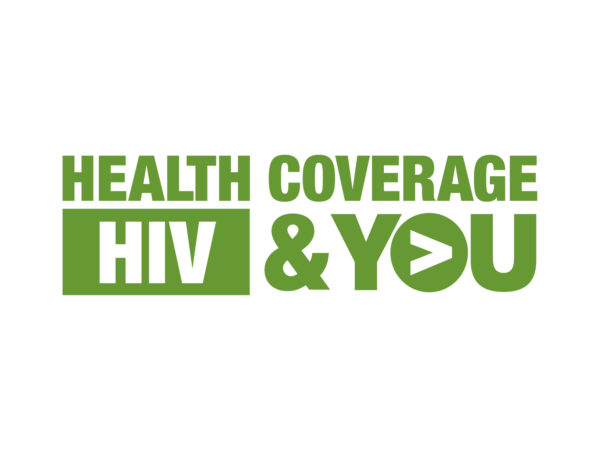 Green Health Coverage, HIV and You campaign logo