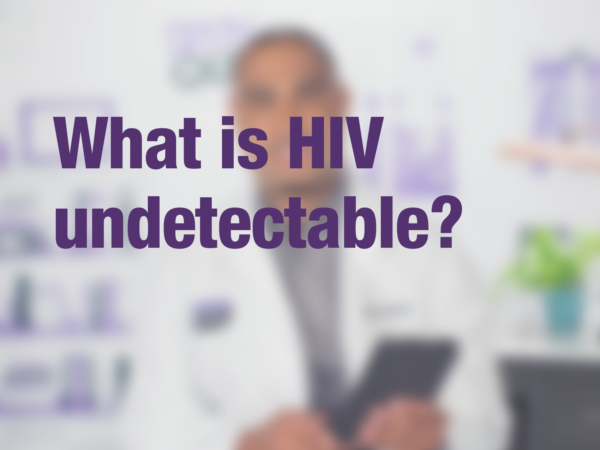 What is HIV undetectable?