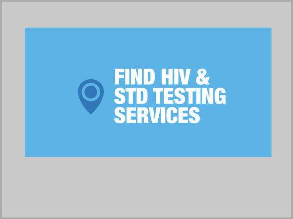 Find HIV and STD Testing Services graphic