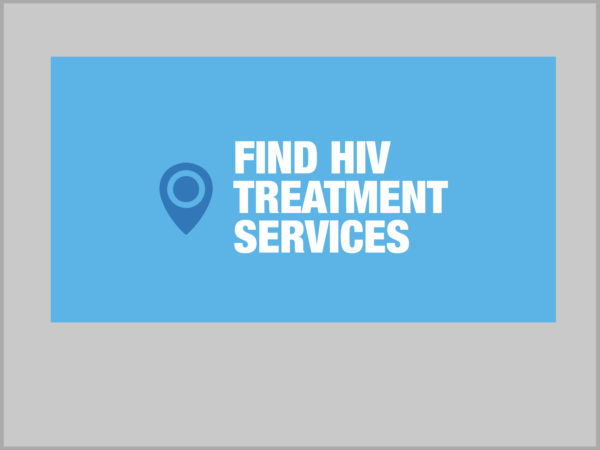 Find HIV Treatment Services graphic