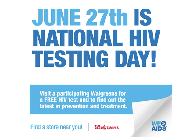 Press Release: Free HIV Testing at Select Walgreens for National HIV Testing Day! 4
