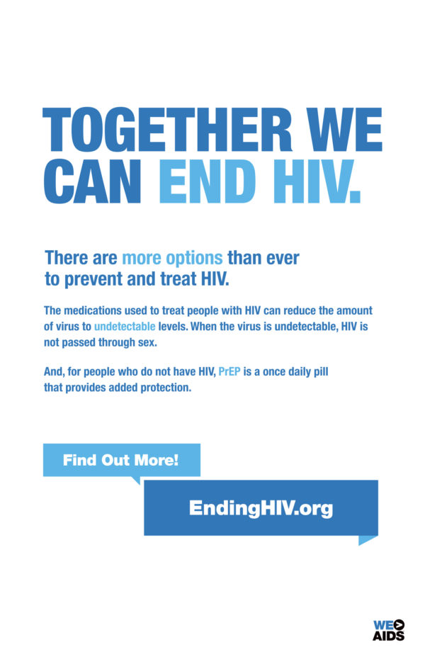 Together We Can End HIV
