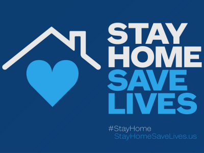 Stay Home. Save Lives. 2
