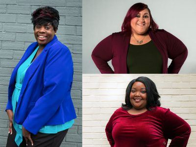 Collage of women living well with HIV