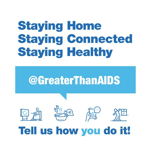 Staying Home Staying Connected Staying Healthy