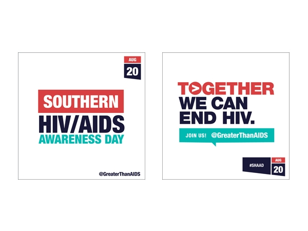 Southern HIV/AIDS Awareness Day Aug 20