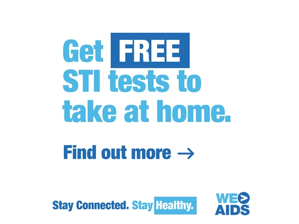 Get FREE STI tests to take at home. Find out more.